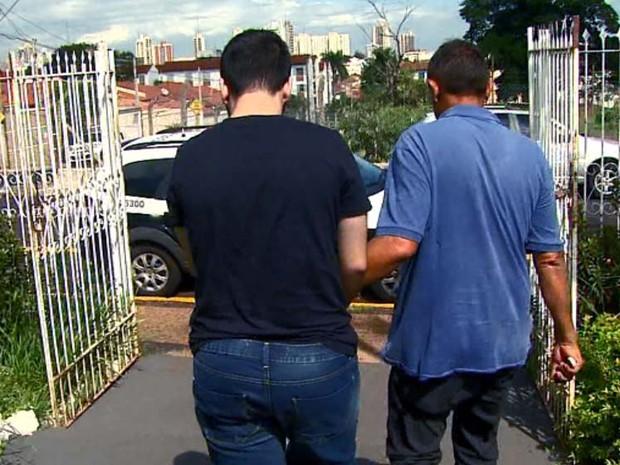 Jovem foi preso por tentativa de homicídio por embriaguez ao volante (Foto: Reprodução/EPTV)