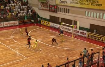 Rondon sai na frente do Ponta Grossa na final do Paranaense de futsal