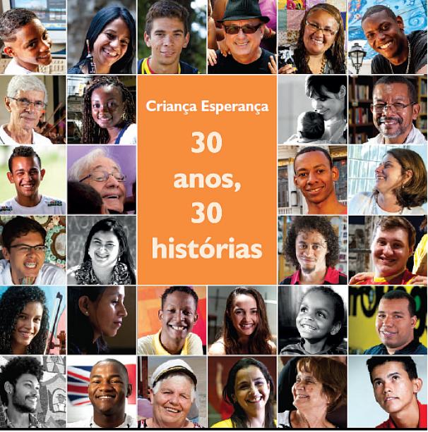 Livro dos 30 anos do Criança Esperança (Foto: Globo)