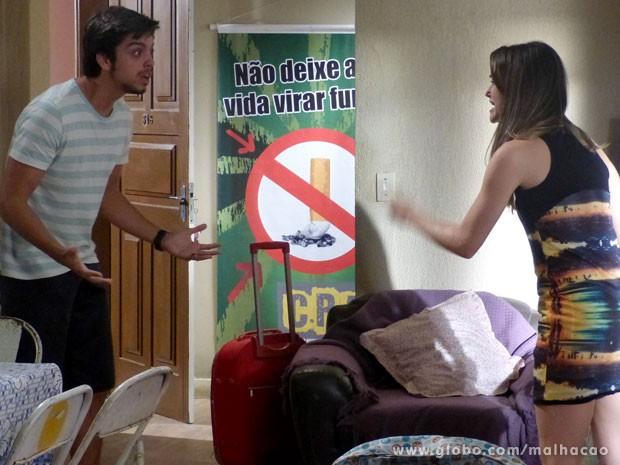 Eles brigam, mas se amam!!! <3 (Foto: Malhação/ TV Globo)