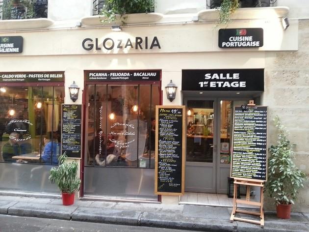 Glozaria, restaurante luso-brasileiro em Paris.