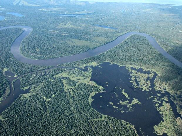 Rios Amazônia no Amazonas (Foto: Adneison Severiano/G1 AM)