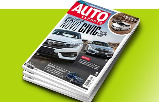 Capa Revista Autoesporte 616 (Foto: Autoesporte)