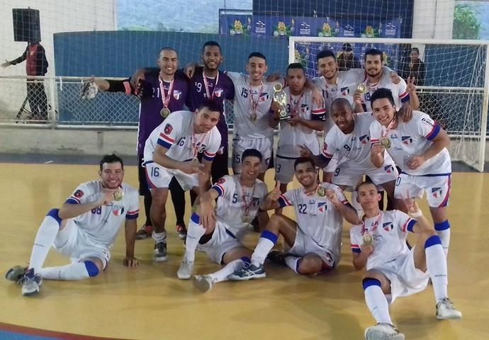 Grêmio Mogi - Ouro Jogos Regionais (Foto: Divulgação / Facebook)