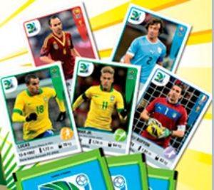 Figurinha de Neymar no álbum da Copa das Confederações (Foto: Divulgação)
