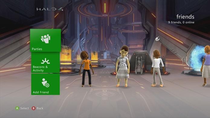 Halo 4 tem uma variedade de temas para Xbox 360 (Foto: Divulgação)