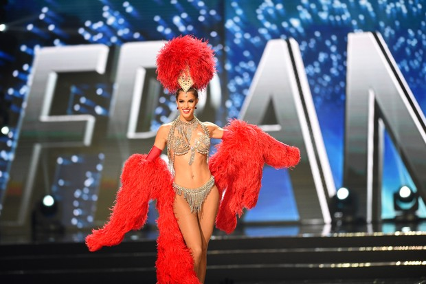 Iris Mittenaere, a Miss França, é eleita Miss Universo 2016 (Foto: AFP)