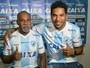 """Ídolo do Londrina, Brandão comemora contratação do filho: """"Sonho realizado"""""""