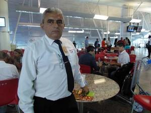 Francisco Edilson de Sousa trabalha no Augusto Severo há 14 anos (Foto: Fernanda Zauli/G1)