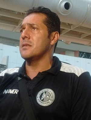 Maurílio Silva, técnico do ASA (Foto: Leonardo Freire/GloboEsporte.com)