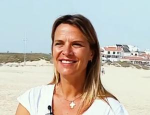Mariana Becker, repórter da TV Globo (Foto: Reprodução SporTV)