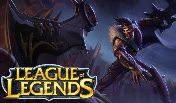 Draven: campeão do League of Legends também é dublado por Ricardo Juarez (Foto: Divulgação)