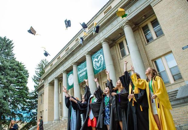 Colorado State University, nos EUA (Foto: Reprodução/Facebook)