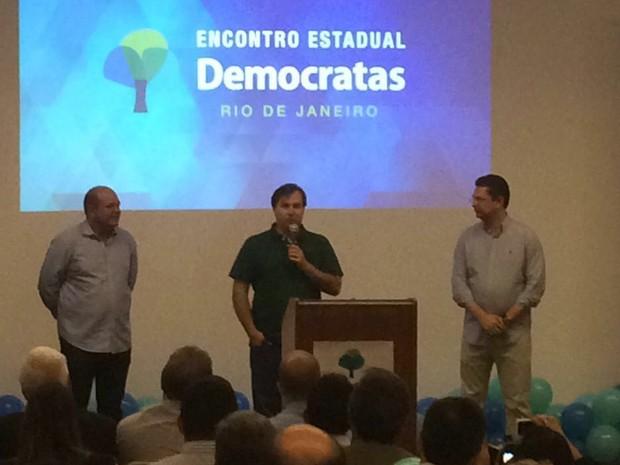 O deputado Rodrigo Maia (DEM-RJ) foi eleito presidente da Câmara dos Deputados, com 285 votos. (Foto: Henrique Coelho / G1)