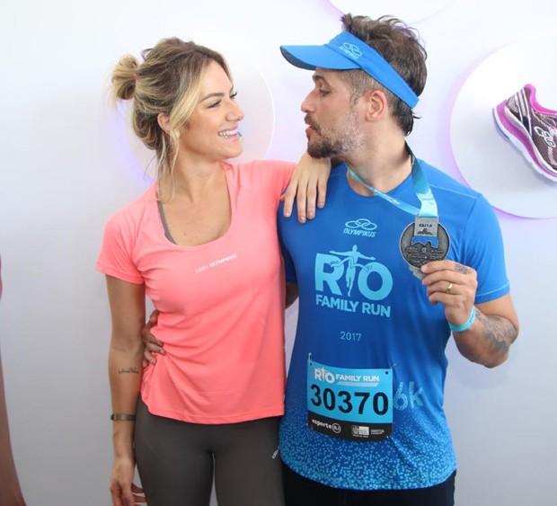 Giovanna Ewbank e Bruno Gagliasso (Foto: Daniel Pinheiro/AgNews)