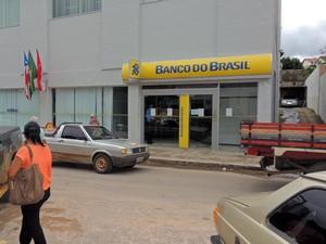 Banco do Brasil Caetité (Foto: Lay Amorim/Brumado Notícias)