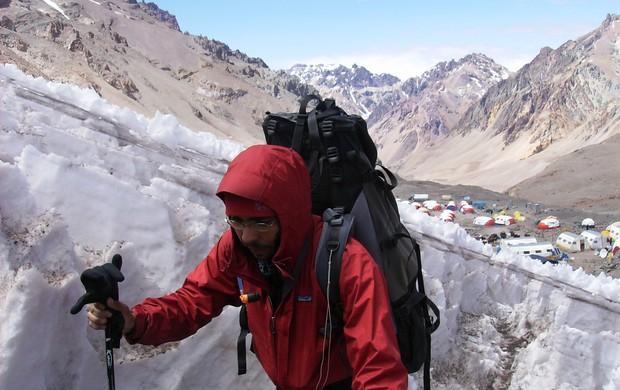 edmilson fonseca, alpinista (Foto: Arquivo Pessoal / Edmilson Fonseca)