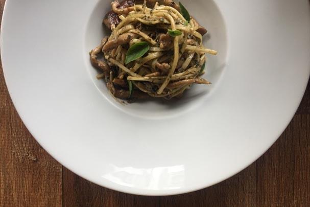 Spaghetti de pupunha (Foto: Divulgação)