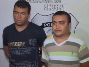 Acusados de assassinar empresário Epaminde Picos são presos (Foto: Reprodução/Rede Clube)
