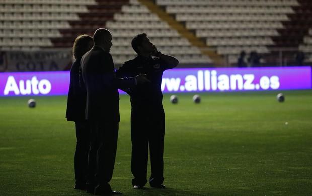 jogo adiado rayo vallecano e real madrid estádio de vallecas (Foto: Agência Reuters)
