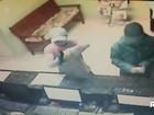 Mulheres são presas após assalto a pizzaria em Foz do Iguaçu; VÍDEO