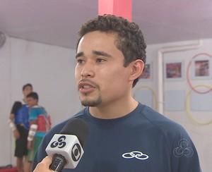 Treinador Bruno Igreja pretende mandar atletas para competição (Foto: Reprodução/Rede Amazônica)