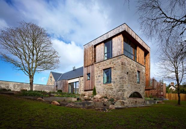 Moinho antigo transformado em casa de campo premiada casa vogue casas - Casa rural original ...