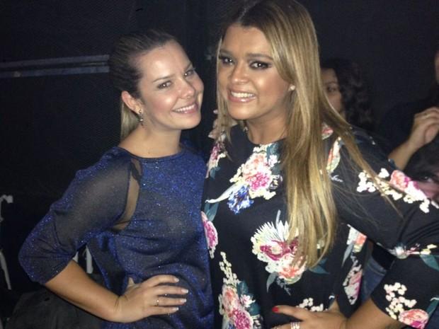 Fernanda Souza e Preta Gil no Msica Boa Ao Vivo (Foto: Multishow)