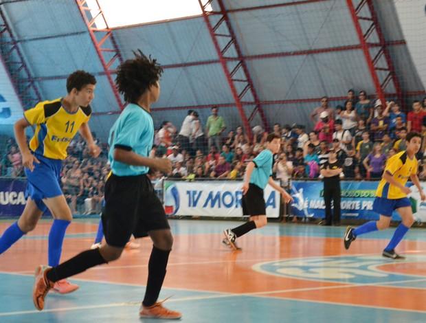 Final da Copa da Juventude de Futsal (Foto: Gabriela Pavão/GLOBOESPORTE.COM)