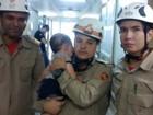 Bebê sobrevive a acidente após ser arremessado na GO-070, diz polícia