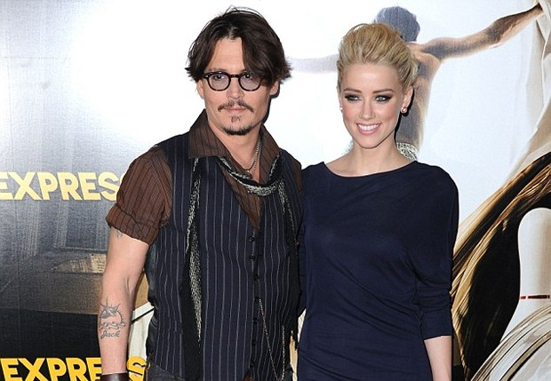 Johnney Deep e Amber Heard (Foto: Getty Images)