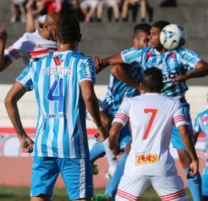 botafogo-sp x crac (Foto: Rogério Moroti / Agência Botafogo)