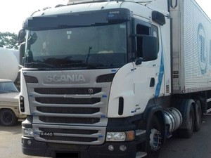 Homem disse em ligação anônima que caminhão transportava 11 toneladas de maconha  (Foto: Divulgação/PM-TO)