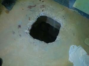Túnel em Pedrinhase (Foto: Reprodução)