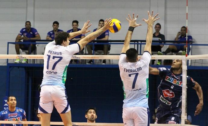 Vôlei Taubaté x Minas Superliga (Foto: Divulgação/CBV)
