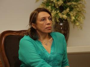 Cida Ramos, secretária de Estado de Desenvolvimento Humano (Foto: Francisco França/Jornal da Paraíba)