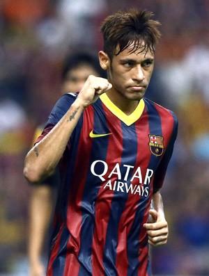 Neymar Comemoração Barcelona (Foto: Getty Images)