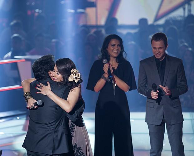 Daniel escolhe Carla Casarin. Livia Itaborahy e Nanda Garcia são eliminadas do programa  (Foto: Isabella Pinheiro/Gshow)