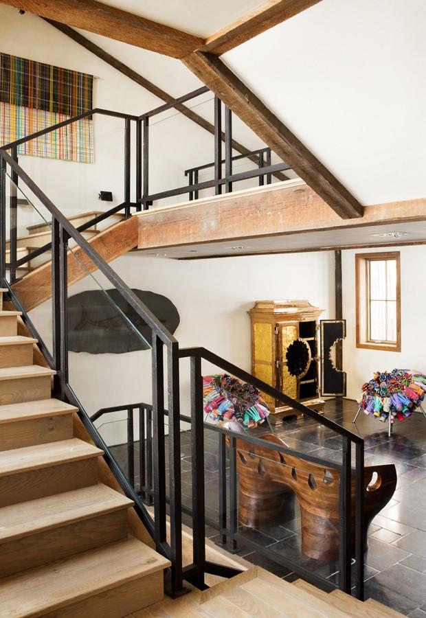 Arte, design e emoção em uma casa de montanha (Foto: John Ellis/Divulgação)