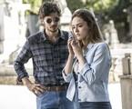 Isabelle Drummond e Chay Suede em 'A lei do amor' | Raphael Dias/Gshow