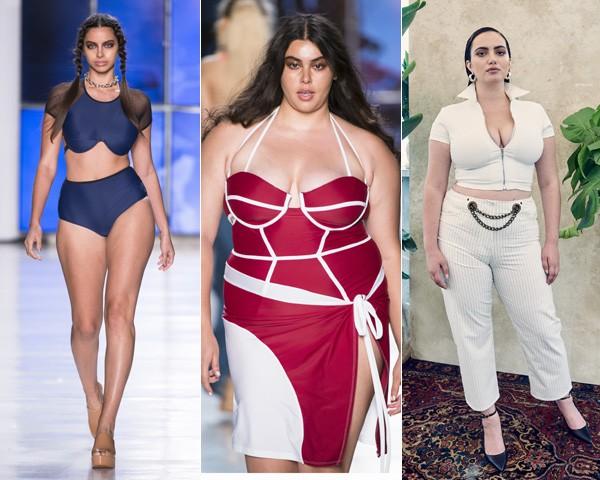 Desfile da Chromat e Miaou na semana de moda de Nova York (Foto: Imaxtree)