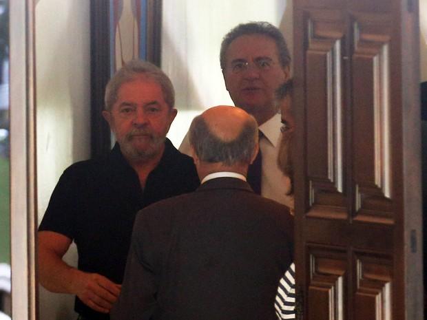 Resultado de imagem para Renan e Lula