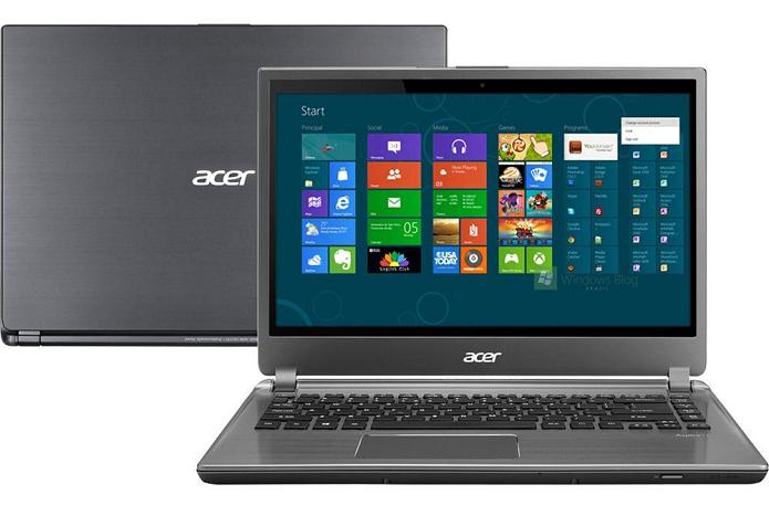 Acer M5-481T-6650 tem boa performance e portabilidade (Foto: Divulgação) (Foto: Acer M5-481T-6650 tem boa performance e portabilidade (Foto: Divulgação))
