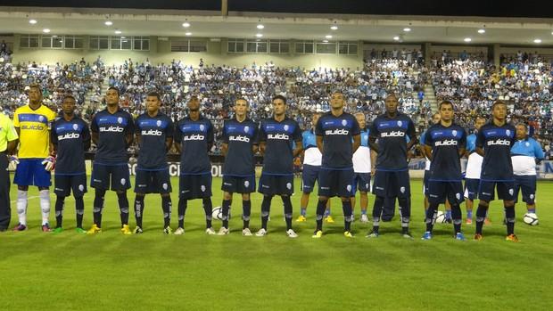 CSA perdeu para o Corinthians-AL por 4 a 2 no Rei Pelé (Foto: Caio Lorena / Globoesporte.com)