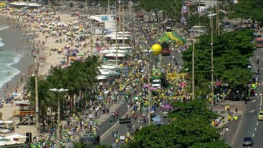 Cidades têm manifestações a favor da Lava Jato