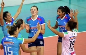 Minas recebe o Osasco em BH; duelo vale a terceira colocação da Superliga