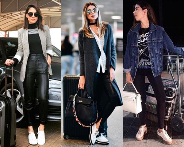 Camila Coelho, Thassia Naves e Camila Coutinho: prontas para voar (Foto: Instagram)