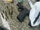 Homem é preso com arma, drogas e dinheiro após denúncia em Três Rios