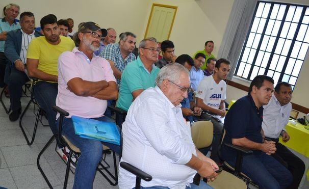Presidentes e representantes dos clubes sergipanos (Foto: Divulgação / TV Sergipe)
