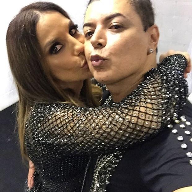 Ivete Sangalo e David Brazil (Foto: Reprodução/Instagram)